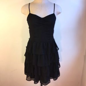 NWT Black Ruffle Dress
